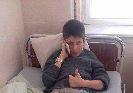 12-річний хлопець з благородним проектом попав до лікарні (ФОТО)