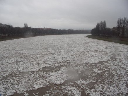 Через різке потепління на річках Закарпаття відбудеться льодохід і підвищення рівнів води