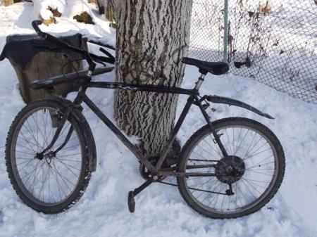 Велосипедним злодіям зима не на заваді