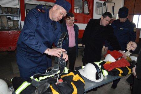 Іршавські рятувальники отримали допомогу