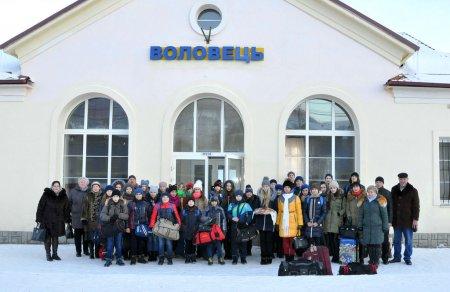 З прифронтової Луганщини на Закарпаття для зимового відпочинку приїхали діти  (+ ФОТО)