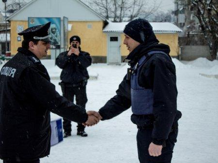 Керівництво поліції нагородило грамотами кращих патрульних (ФОТО)