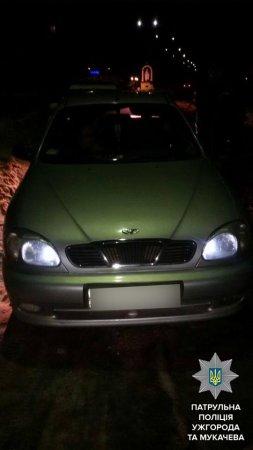 Поліція зупинила автомобіль, який знаходиться «в угоні» (ФОТО)