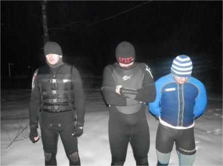 Трьох контрабандистів- водолазів затримано на Закарпатті