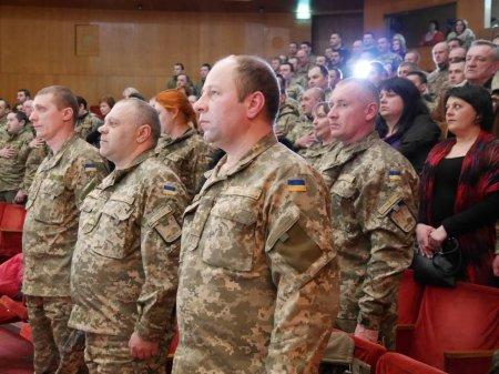 В Ужгороді відзначили військовослужбовців 15-го окремого гірсько-піхотного батальйону (ФОТО)