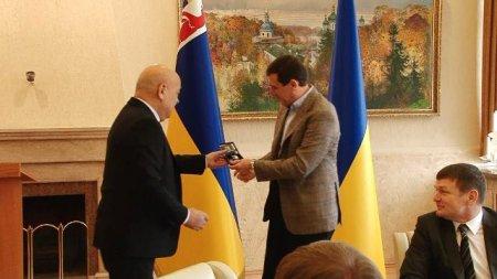 Народний депутат Василь Петьовка отримав найвищу відзнаку Закарпатської ОДА «За заслуги перед Закарпаттям»