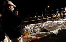 В результаті аварії екскурсійного автобусу на Тайвані загинули 32 людини
