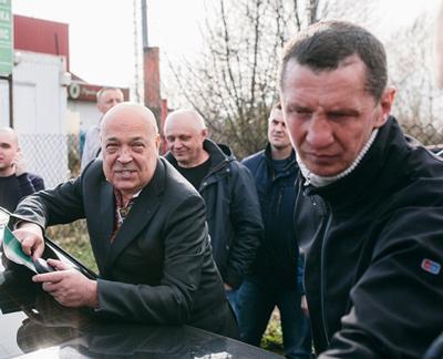 На губернатора Закарпаття Геннадія Москаля народний «губернатор» подав дві заяви в поліцію