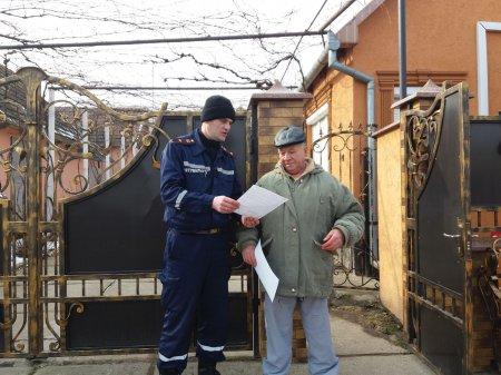 Рятувальники провели пожежно-профілактичне відпрацювання серед населення берегівського району (ФОТО)