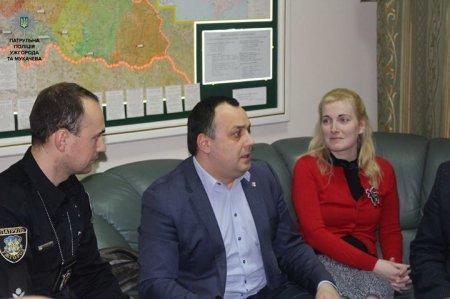 Поліція  Закарпаття приймала своїх колег з краю Височина (ФОТО)