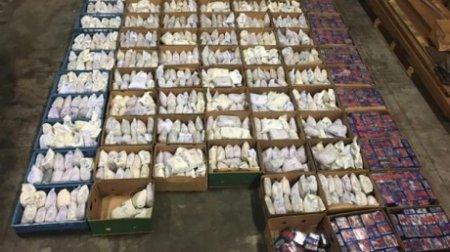 У Нідерландах в коробках  знайшли 1100 кг героїну на 68 млн євро