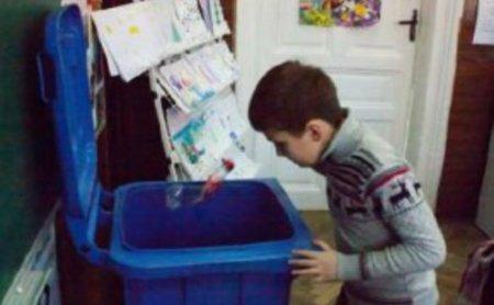 В Чопі школярі вчитимуться сортувати сміття з користю