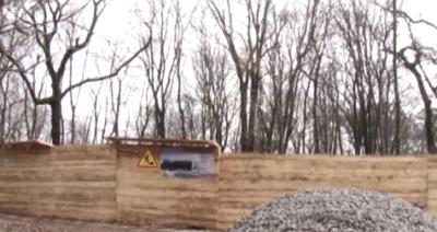 В Ужгороді взялися забудовувати паркові зони (Відео)