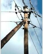 Через негоду на Перечинщині впало 5 електроопор