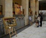 Виставкою творів львівських художників стартував масштабний мистецький проект в атріумі Закарпатської ОДА