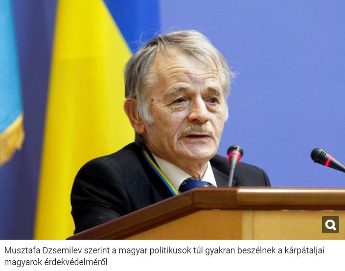Угорські ЗМІ незадоволені заявою Джемілєва