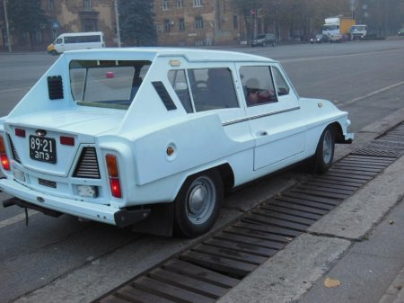 В Україні помітили унікальне авто (ФОТО)