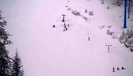 На Закарпатті гірськолижний сезон продовжується (фото)