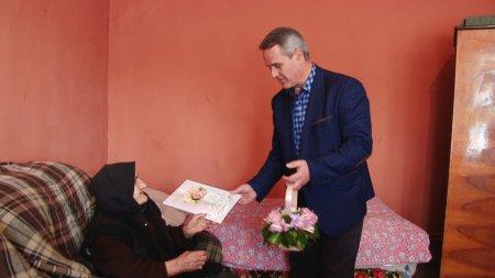 101 - й день народження відзначила жителька Середнього Водяного Ніца Філіп