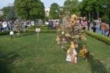 Цього тижня площу Народну оздобить більше півсотні писанкових дерев (+ ФОТО)