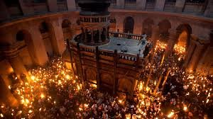 У Єрусалимі зійшов благодатній вогонь