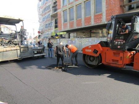 В Ужгороді триває капітальний ремонт вулиці Підгірної (ФОТО)