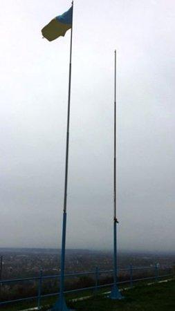 Москаль: «Угорський прапор на околиці Берегова зірвав вітер, а не вандали» (фото)