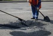 На Тячівщині розпочато ямковий ремонт головної дороги (ФОТО)
