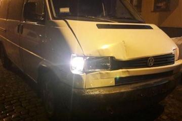 П'яний закарпатець протаранив чотири автівки (Фото)