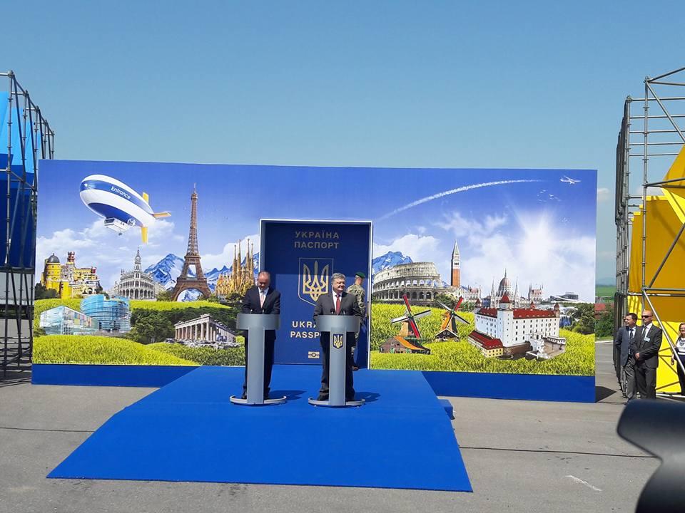 Європа відкрила двері для 45 млн українців— П.Порошенко