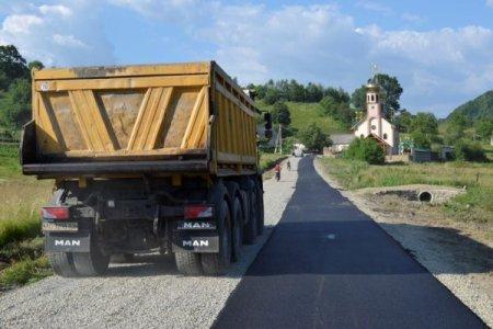 На Тячівщині проводять капітальний ремонт доріг (фото)