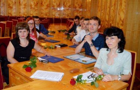 В Закарпатській ОДА нагородили кращих державних службовців області