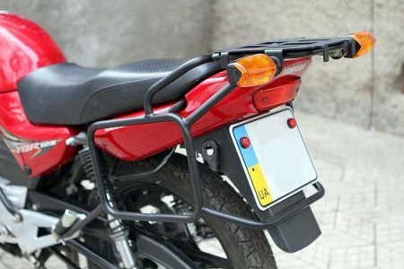 У свалявчанина з двору викрали дорогий мотоцикл
