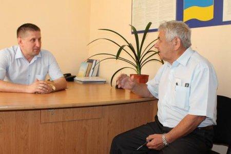 З жителями Свалявщини спілкувався заступник начальника поліції, полковник Василь Лешко (ФОТО)