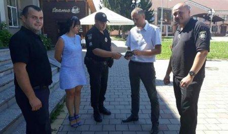 На Тячівщині поліція відпрацьовує операцію «Мігрант» (ФОТО)