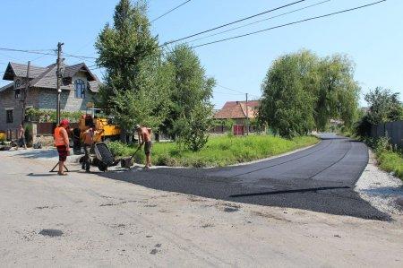 У Королеві на Виноградівщині  завершився капітальний ремонт доріг (ФОТО)