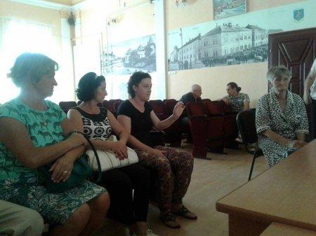 Мер Берегова вирішував питання місцевих мешканців