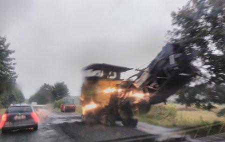 На хустщині дорогу «Мукачево – Рогатин» прокладають і у вихідні, і у дощ