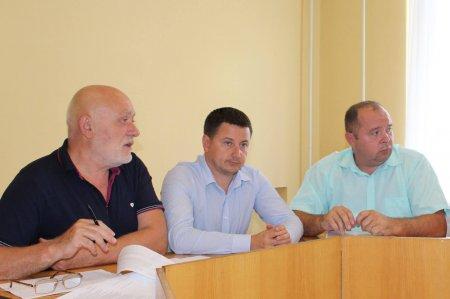 У Виноградові бюджетна комісія ознайомилися з питаннями майбутньої сесії