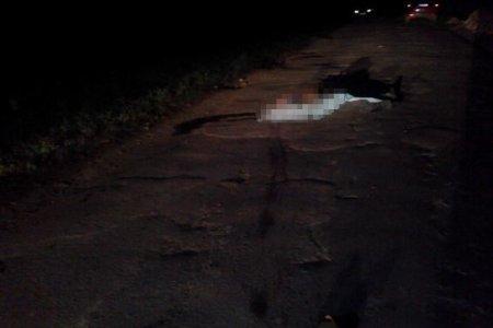 Водій насмерть збив пішохода та зник з місця ДТП (ФОТО)