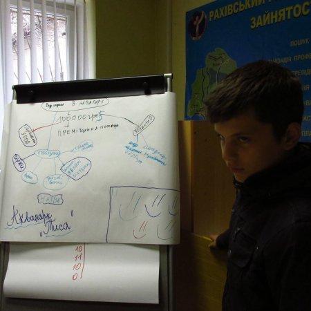 Рахівські учні презентували власний бізне (Фото)
