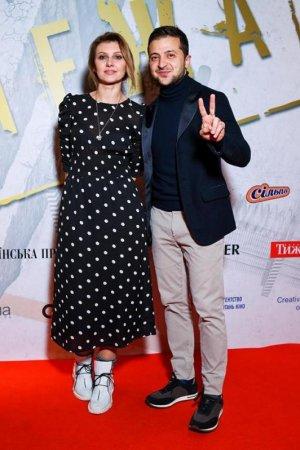 Зеленський вперше показав дружину на світській тусовці (ФОТО)