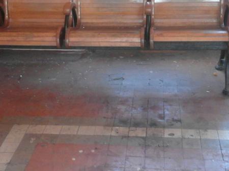 Найбрудніший вокзал на Закарпатті (фото)