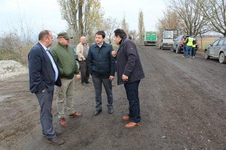Ділянку дороги Сасово-Чорнотисів капітально ремонтують за кошти «митного експерименту» (ФОТО)