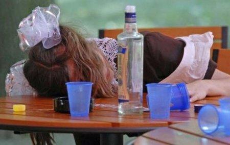 Малолітні закарпатки отруїлися алкоголем та перебувають в лікарні