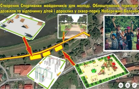 У Мукачеві оновлюватимуть парк (ВІДЕО)