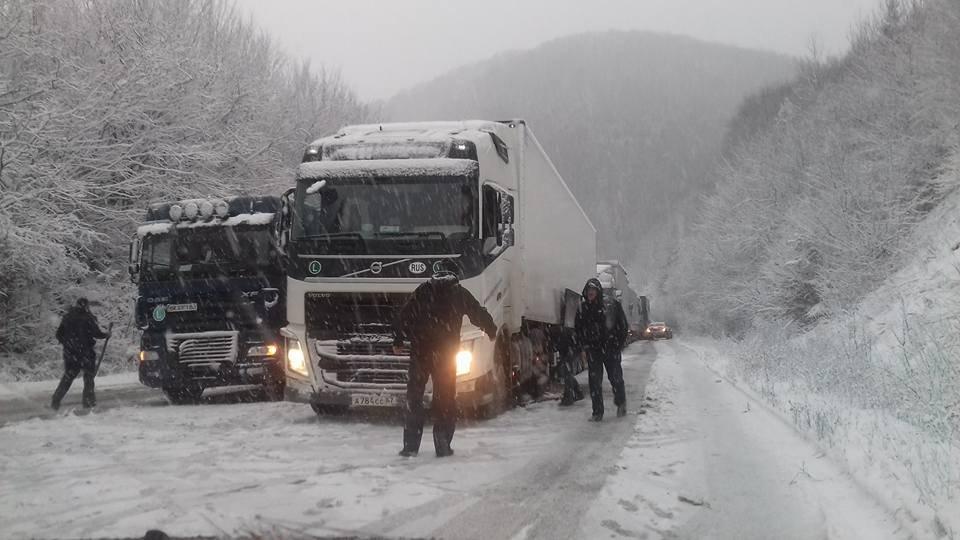 Сьогодні на Прикарпатті очікуються сильні снігопади