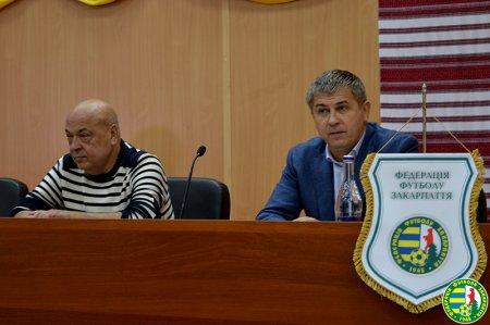 Головою громадської спілки «Федерація футболу Закарпаття» став Іван Дуран (фото)