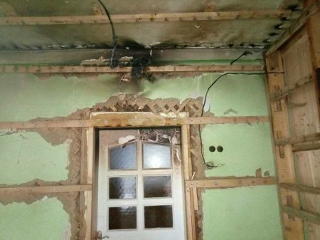 У Тячівському районі ледь заживо не згорів чоловік (Фото)