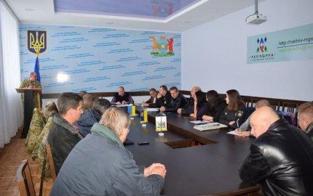 Поліція Рахівщини, прикордонники та місцева влада обговорили перспективи роботи з громадськими формуваннями